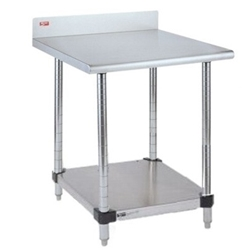Metro Shelves USA Metro Laboratory Quot Stationary - Stainless steel table top shelves