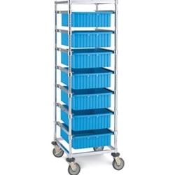 Metro® Super Erecta® Single Bay Kitting Cart Tote Box Carrier Three Sets of Slides  sc 1 st  Metro Shelves USA & Metro Shelves USA - Metrou0026#174; Super Erectau0026#174; Single Bay ... Aboutintivar.Com